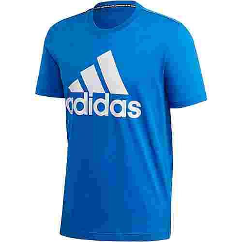 adidas MH BOS T-Shirt Herren blue