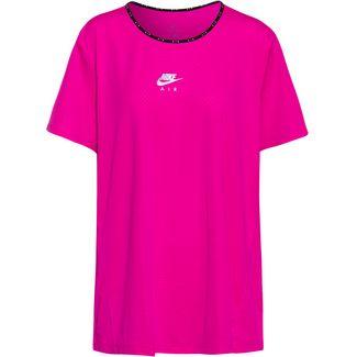 Nike Plus Size Funktionsshirt Damen fire pink-reflective silv