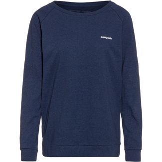 Patagonia Pastel P-6 Logo Responsibili Langarmshirt Damen dolomite blue