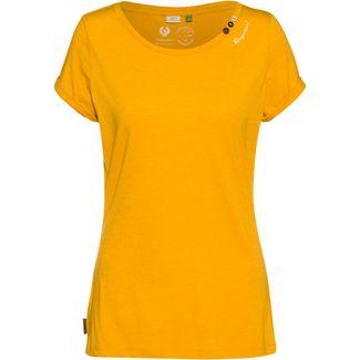 Ragwear Florah A Organic T-Shirt Damen yellow