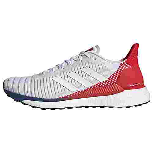 adidas Solarglide 19 Schuh Laufschuhe Herren Cloud White / Cloud White / Scarlet