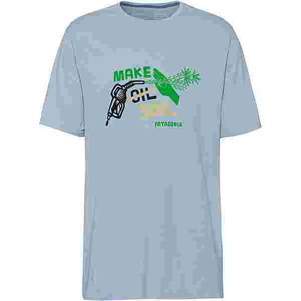 Patagonia Make Soil T-Shirt Herren big sky blue