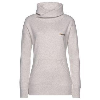 Bench Sweatshirt Damen beige-meliert