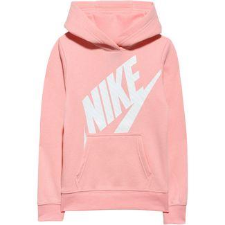 Nike Hoodie Kinder bleached coral