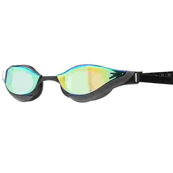 SPEEDO Fastskin Pure Focus Schwimmbrille black/cool grey/blue/gold