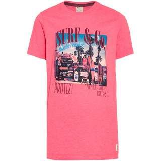 Protest Erik Jr T-Shirt Kinder fluor pink