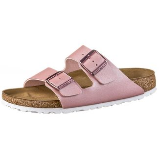 Birkenstock Arizona BF Sandalen Damen metallic old rose
