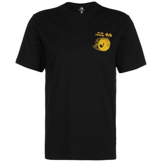 CONVERSE Auto Repair Shop T-Shirt Herren schwarz / gelb