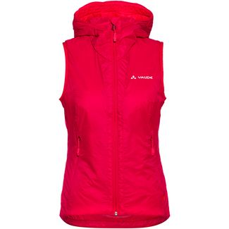 VAUDE Freney Hybrid Outdoorweste Damen cranberry