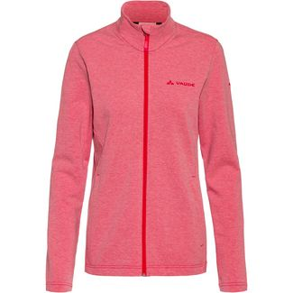 VAUDE Valua Wanderjacke Damen cranberry