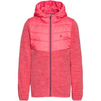 COLOR KIDS Shermann Fleecejacke Kinder desert rose