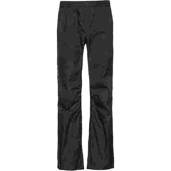 VAUDE Drop Pants II Regenhose Herren black uni