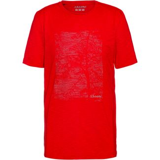 Schöffel Sao Paulo4 T-Shirt Herren goje berry