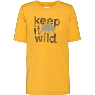 Columbia Terra Vale II Funktionsshirt Herren bright gold keep it wild