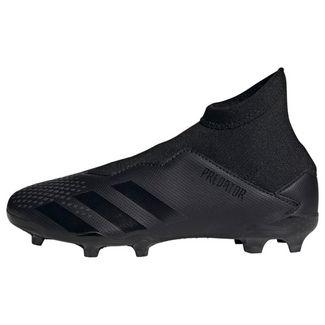 adidas Fußballschuhe Kinder Core Black / Core Black / Solid Grey