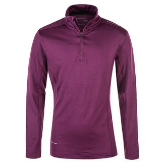 Endurance Langarmshirt Kinder 4105 Deep Purple
