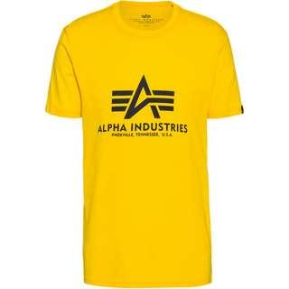 Alpha Industries T-Shirt Herren empire yellow