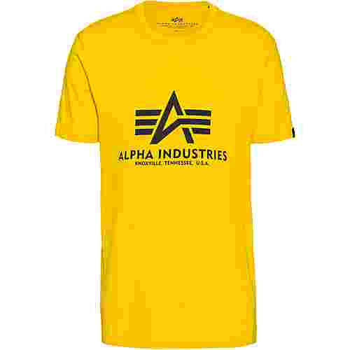 Alpha Industries T-Shirt Herren empire yellow