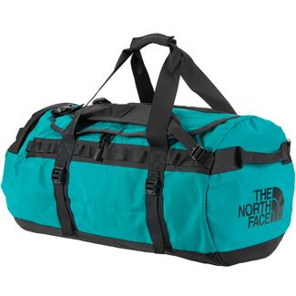 The North Face Base Camp Duffel Reisetasche Fanfare Green-TNF Black