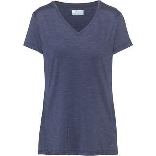 Columbia Bryce V-Shirt Damen nocturnal heather