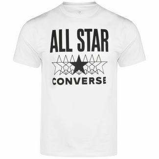 CONVERSE All Star T-Shirt Herren weiß