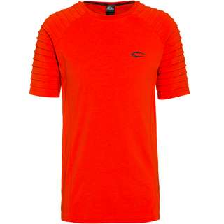SMILODOX Ripplez T-Shirt Herren cherry tomato