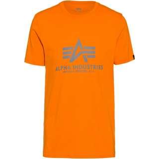 Alpha Industries T-Shirt Herren alpha orange