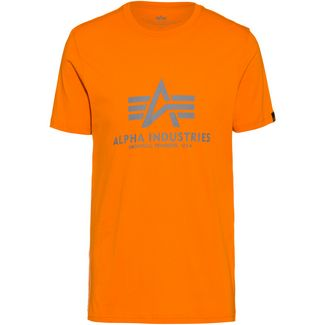 Alpha Industries T-Shirt Herren alpha orange