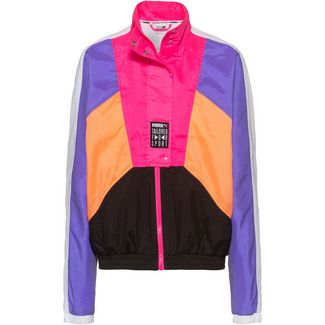 PUMA Tailored for Sport Nylonjacke Damen fluo pink
