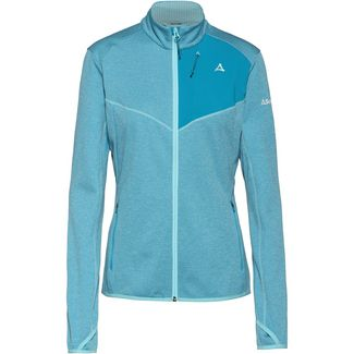 Schöffel Houston1 Fleecejacke Damen angel blue