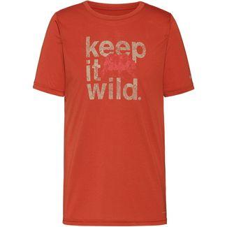 Columbia Terra Vale II Funktionsshirt Herren carnelian red keep it wild