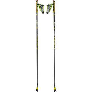 LEKI Smart Pacemaker Nordic Walking-Stock dunkelanthrazit-schwarz-grün-weiß