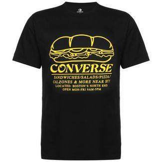 CONVERSE Sandwich Shop T-Shirt Herren schwarz / gelb