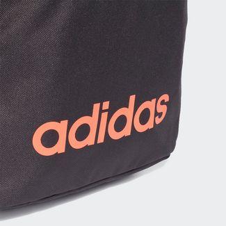 adidas Rucksack Linear Classic Daily Rucksack Daypack Herren Orbit Grey / Grey Six / Signal Coral