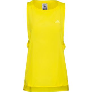 adidas Funktionstank Damen shock yellow