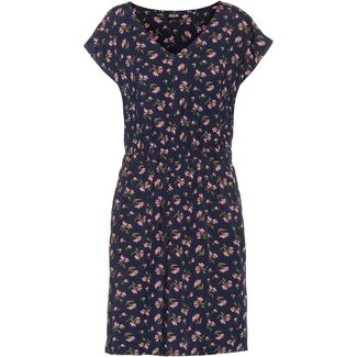 Patagonia June Lake Kurzarmkleid Damen sweet peas-new navy