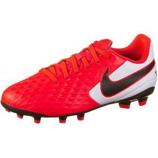Nike JR TIEMPO LEGEND 8 ACADEMY FG/MG Fußballschuhe Kinder laser crimson-black-white