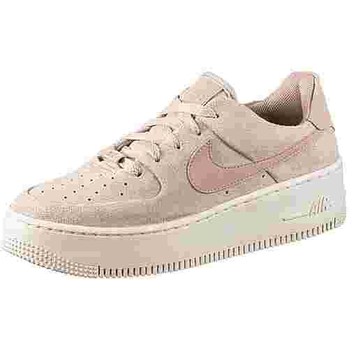 Nike Air Force 1 Sage Sneaker Damen particle beige-particle beige-phantom
