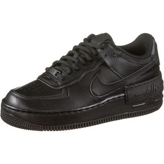 Nike Air Force1 Shadow Sneaker Damen black-black-black