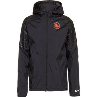 Nike Essential Laufjacke Herren black-hyper crimson