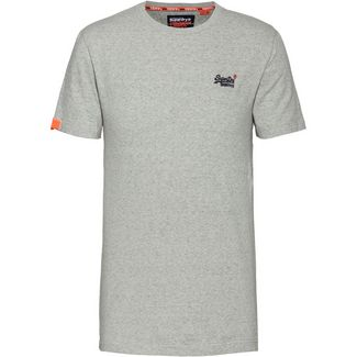 Superdry T-Shirt Herren silver glass feeder