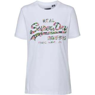 Superdry T-Shirt Damen optic
