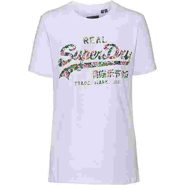Superdry T-Shirt Damen optic