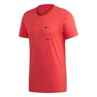adidas TERREX Graphic T-Shirt Funktionsshirt Herren Rot