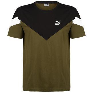 PUMA Iconic MCS T-Shirt Herren oliv / dunkelgrün