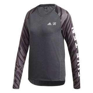 adidas Five Ten Trailcross Longsleeve Funktionsshirt Damen Schwarz