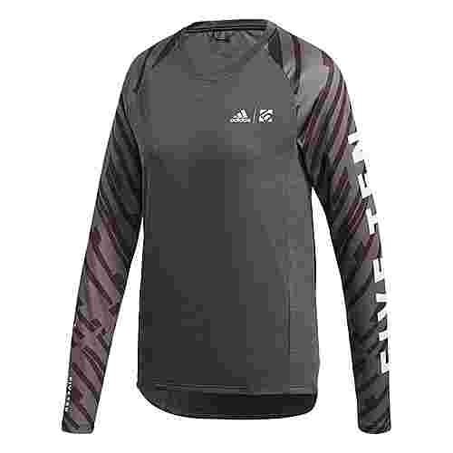 adidas Five Ten Trailcross Longsleeve Funktionsshirt Damen Schwarz