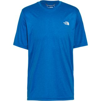 The North Face Reaxion Amp Crew Funktionsshirt Herren Clear Lake Blue Heather