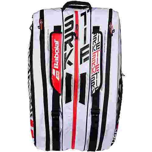 Babolat Pure Strike 12 er RH Tennistasche white-red-black