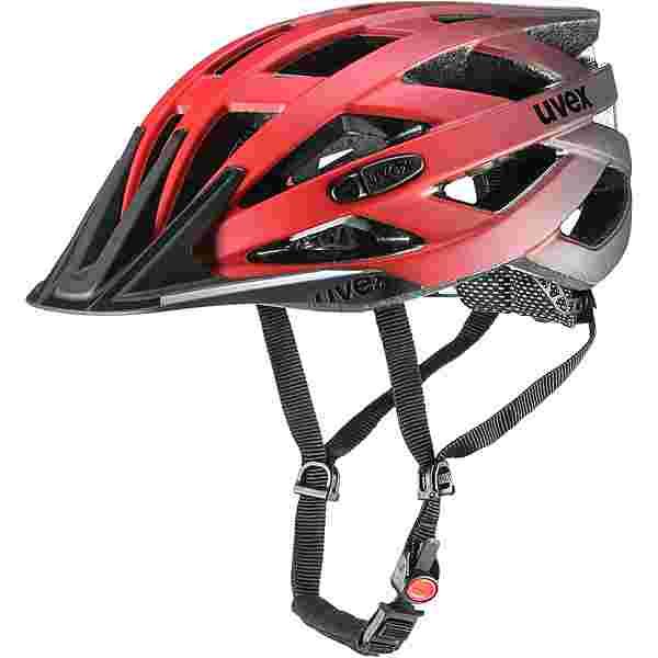 Uvex I-Vo cc Fahrradhelm red black